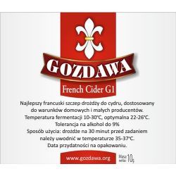 Drożdże do cydru Gozdawa French Cider G1 (FCG1)